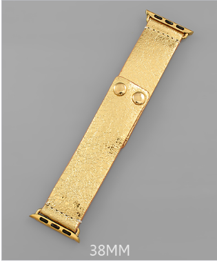 Fleek on Sleek SmartWatch Band - Gold