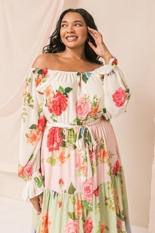 Secret Admirer Dress - Ivory