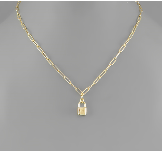 Lock to My Hart Necklace