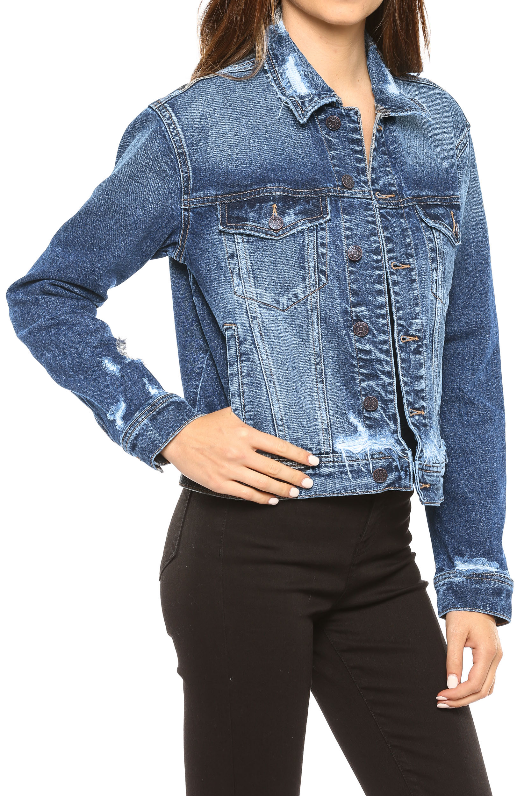 On The Edge Denim Jacket