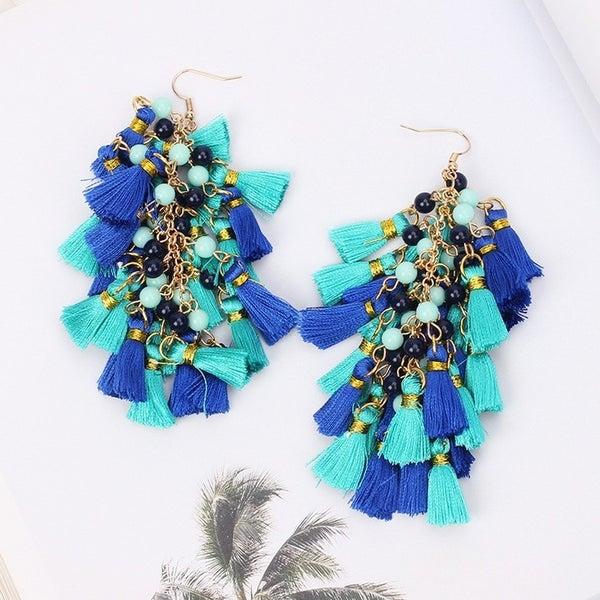 Fun Treasures Earrings - Blue