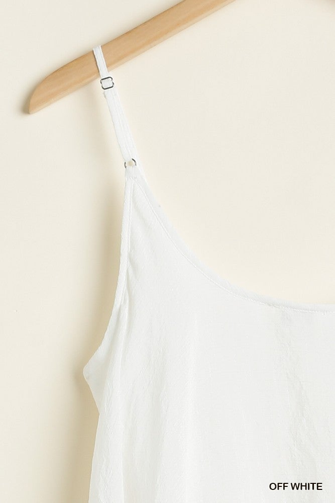 Simply Striking Tank Top - Off White