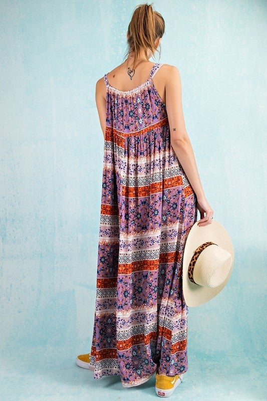 Flowers And Such Cami Maxi Dress