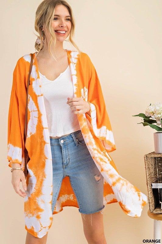 That Beach Life Kimono - Orange