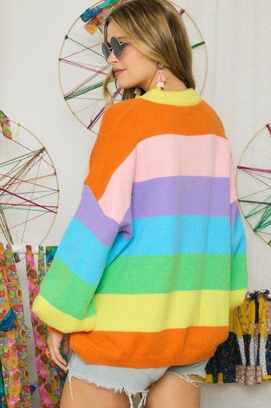 Over the Rainbow Sweater