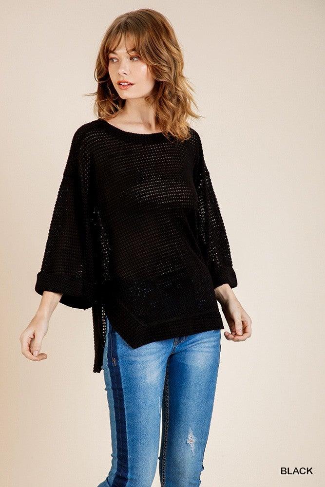 Keep Me Comfy Shirt - Black