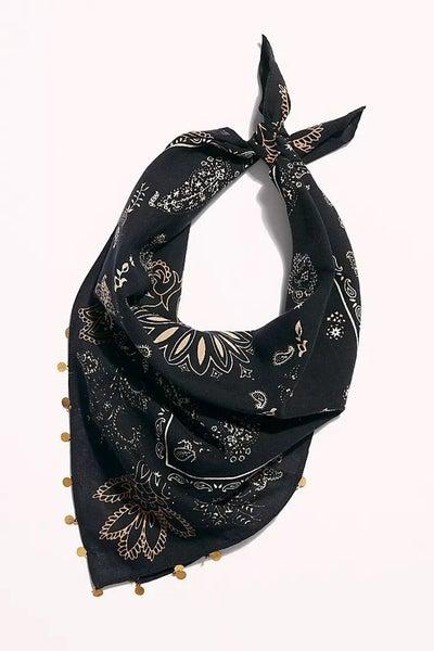 Embellished Bandana - Black
