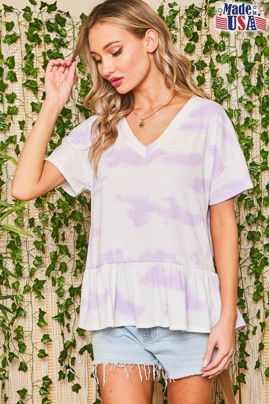 Let's Brunch Top - Purple