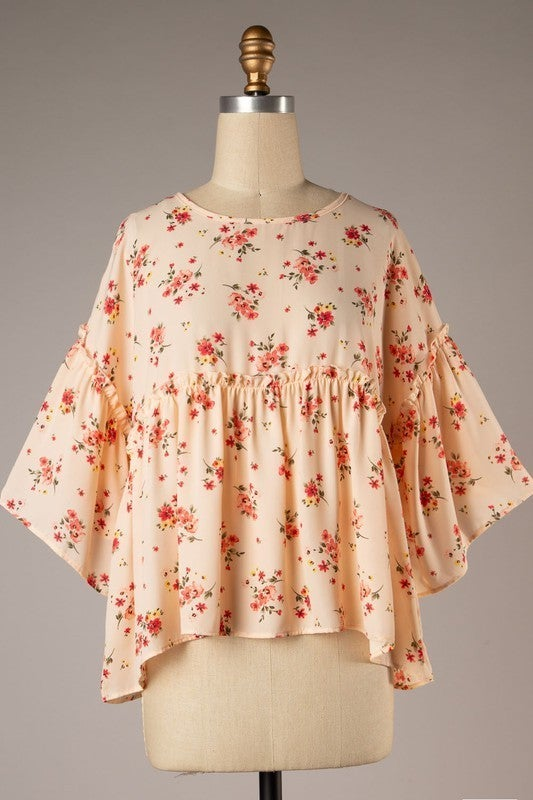 Floral Whimsy Top