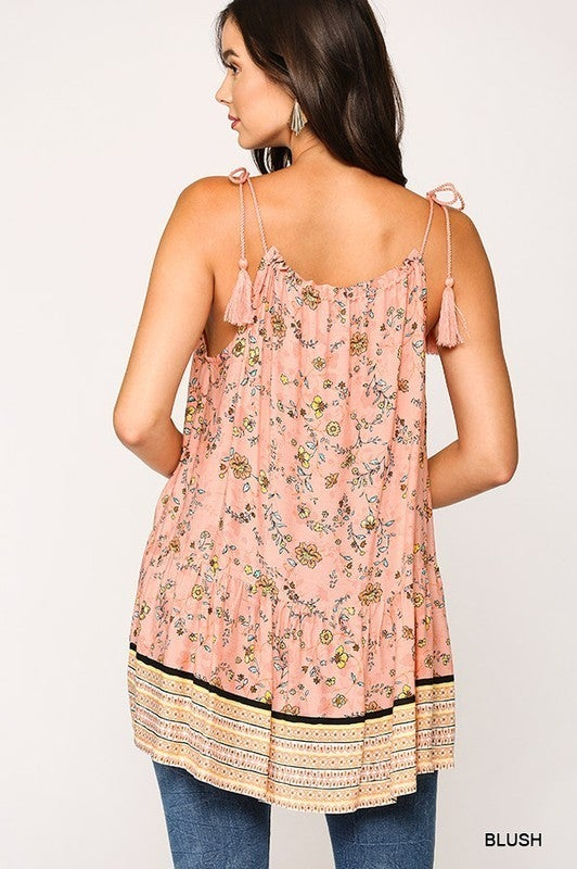 Just Want To Have Fun Halter Tunic