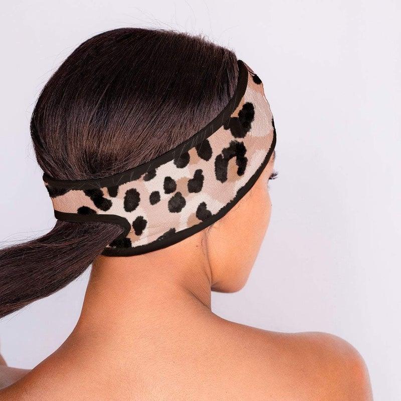 Don't Sweat it  Headband- Leopard
