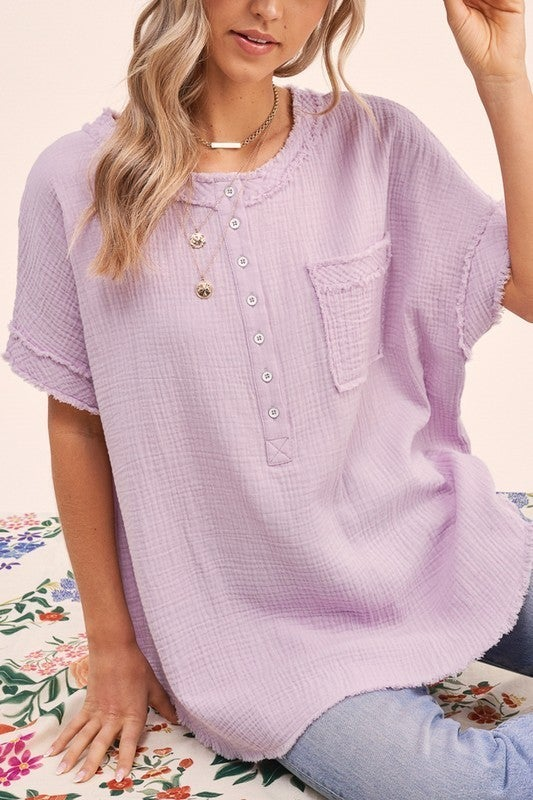 Never The Same Top - Lavender