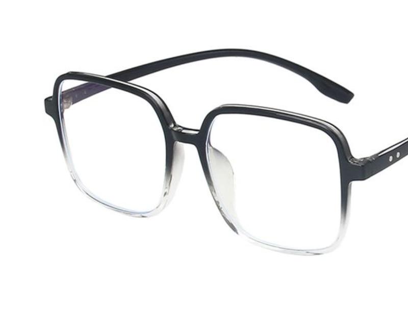 In Plain Sight Blue Light Glasses - Black Ombre