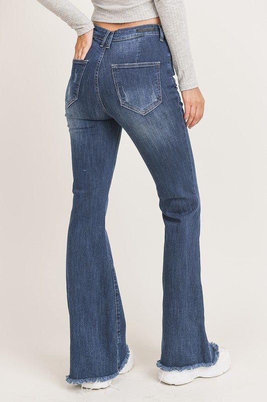 Oh My Flare Jeans - Dark