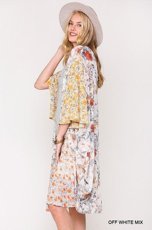 Love's Desire Kimono - Off White
