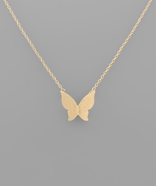 Flitter and Flutter Necklace