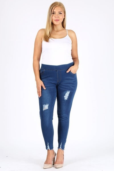 Fun in Distressed Denim