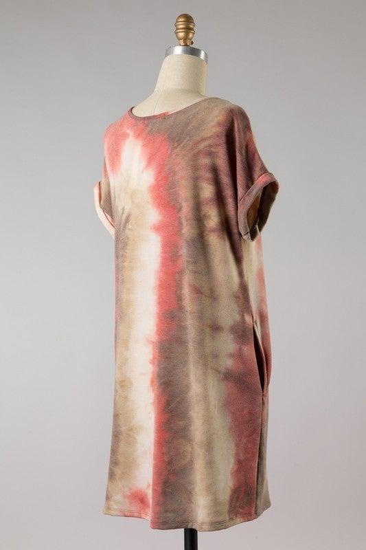 Feeling Cute Tie Dye Dress
