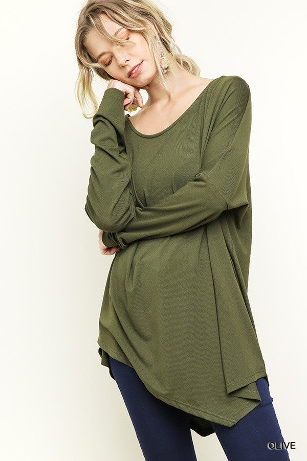 I Make This Look Good Top- Olive