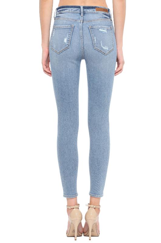 Distressed To Impress Skinny Jeans