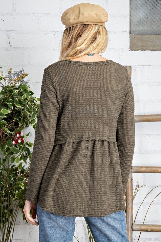 Cozy Is Calling Sweater - Olive