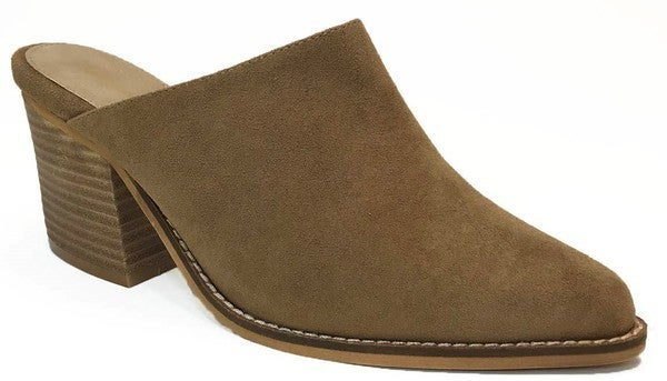 Welcome to Comfort Suede Mules