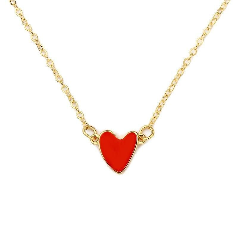 Heart On My Neck Necklace