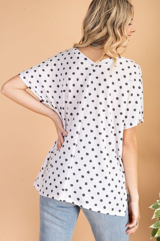 Record Beauty Top -  Ivory