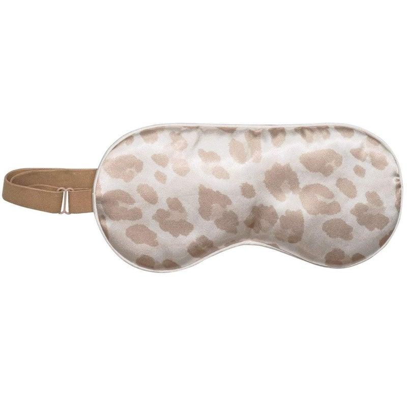 Satin Eye Mask - Leopard