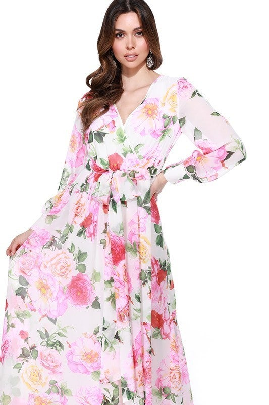 Know You Well Maxi Dress - Ivory
