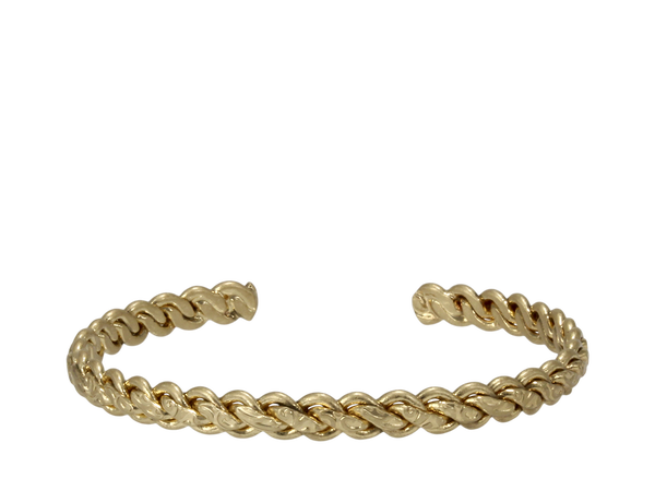 Erimish Braided Cuff-Gold