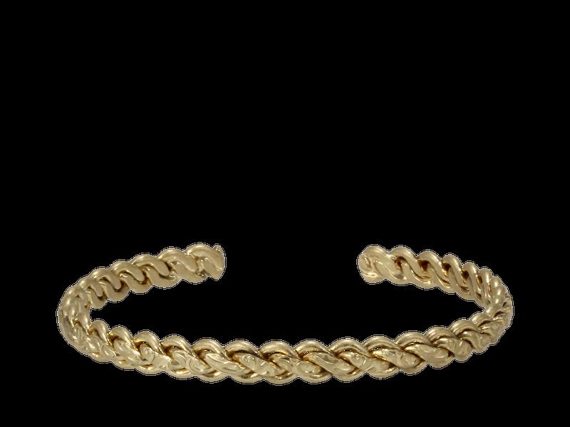 Erimish Braided Cuff-Gold