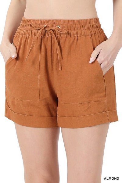 It's A Beautiful Day Shorts - Almond