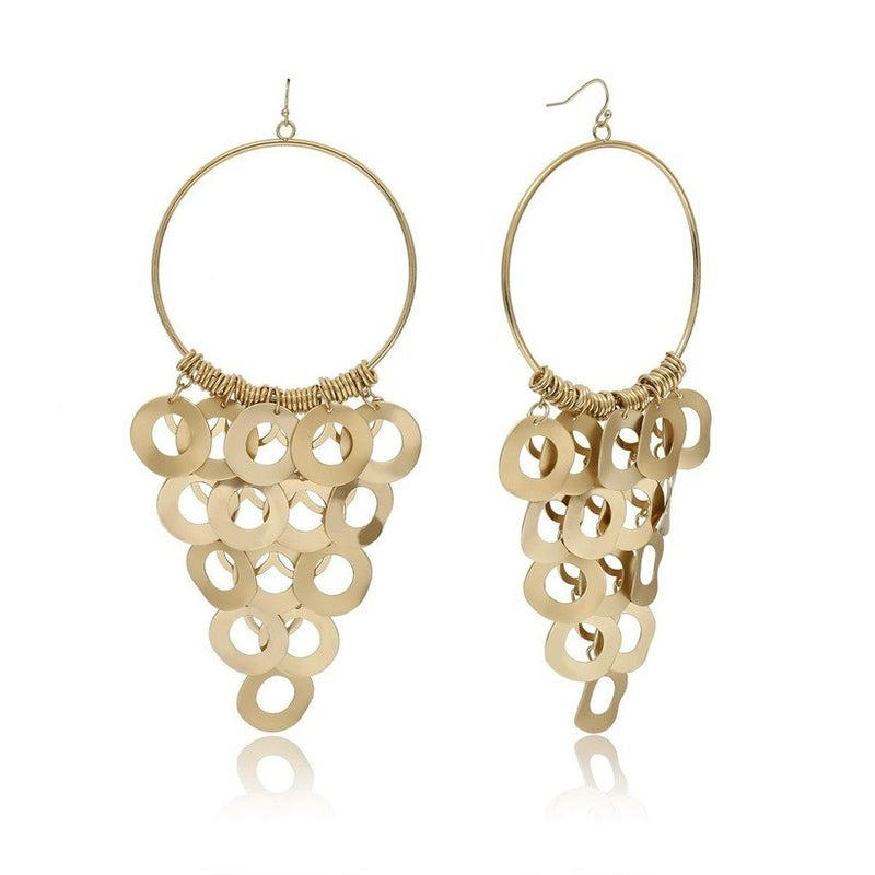 Stay Connected Earrings - Gold