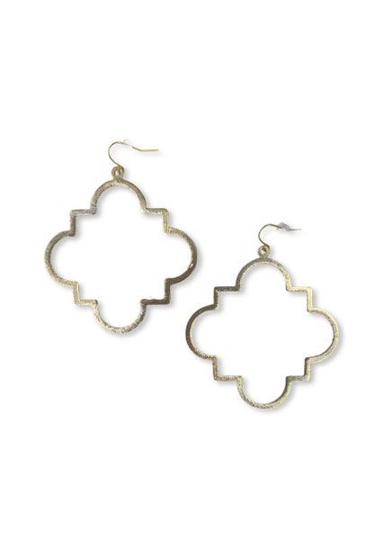 Jennifer Thames Gold Earring