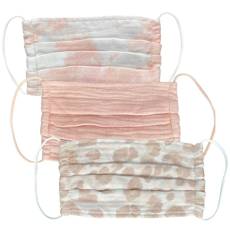 Cotton Face Mask - 3 Piece Set