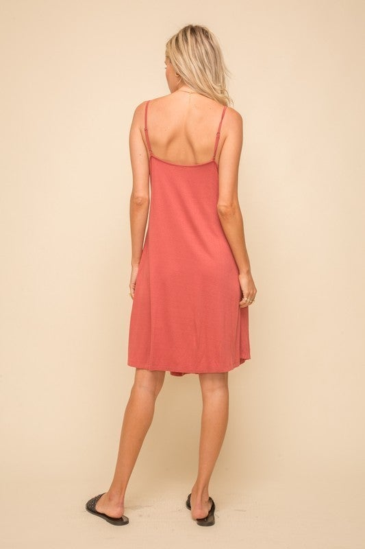 Once Upon a Time Dress - Terracotta