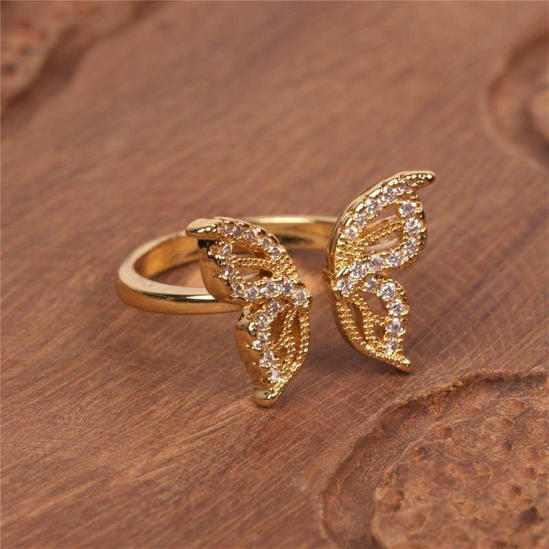 Float Like A Butterfly Ring