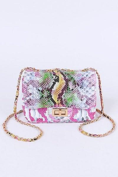 Bring It On Crossbody Bag - Pink