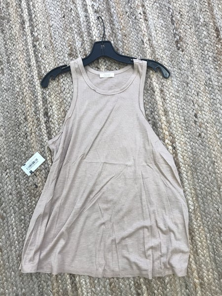 The Albert Tank - Taupe ( WILL SHRINK *HAND WASH ONLY*)