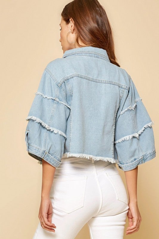 Never Too Far Jacket - Denim