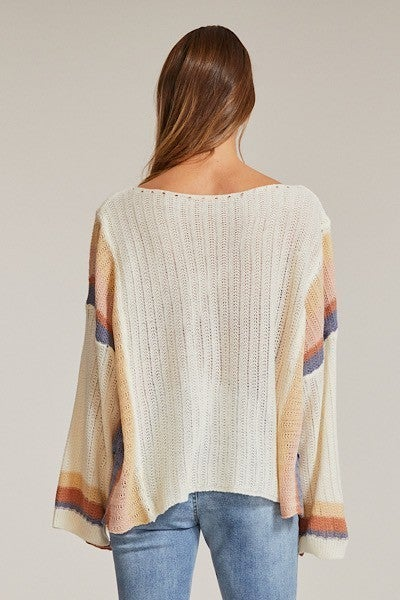 Calming Vibes Sweater - Multicolor