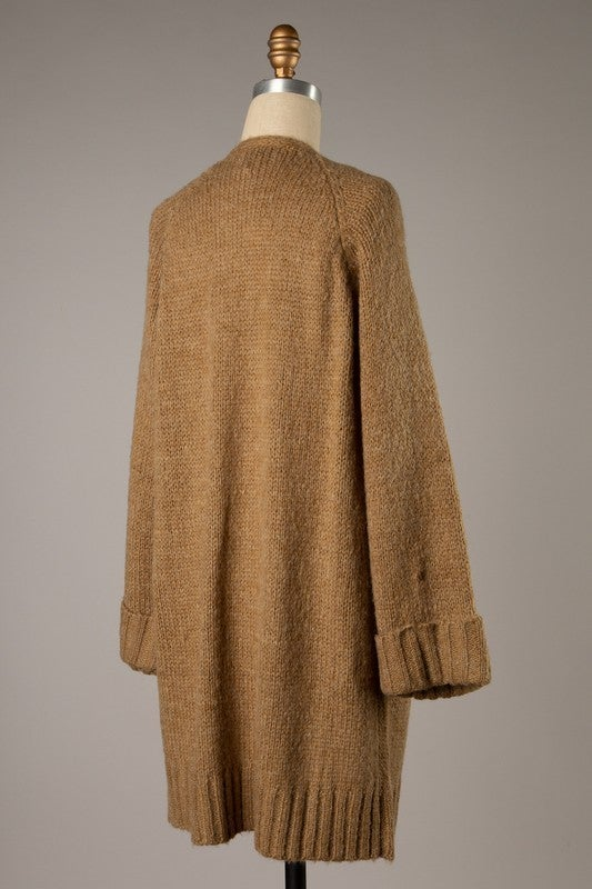 Going to Mom's Sweater - Camel