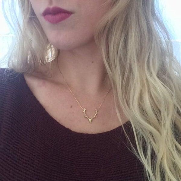 Deer To Me Necklace