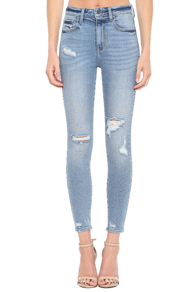 Distressed To Impress Skinny Jeans
