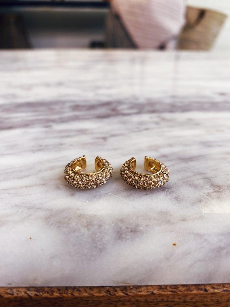 Change My Mind Earrings - Champagne