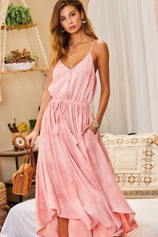 All Day Long Dress - Rose