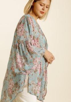 A Wonderful Life Open Front Kimono