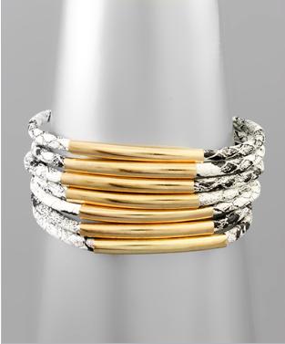 Rows For Days Bracelet - Snake