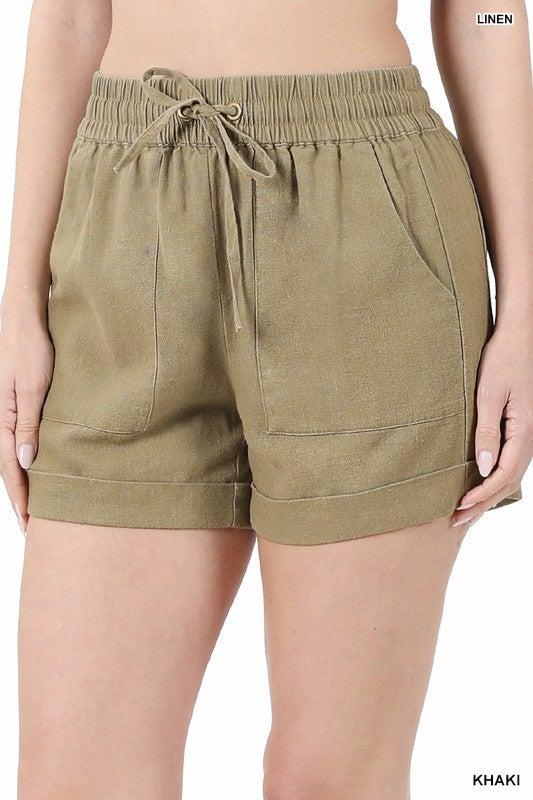 It's A Beautiful Day Shorts - Khaki